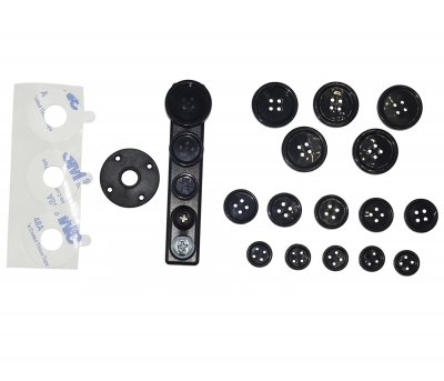 Button camera accessory pack